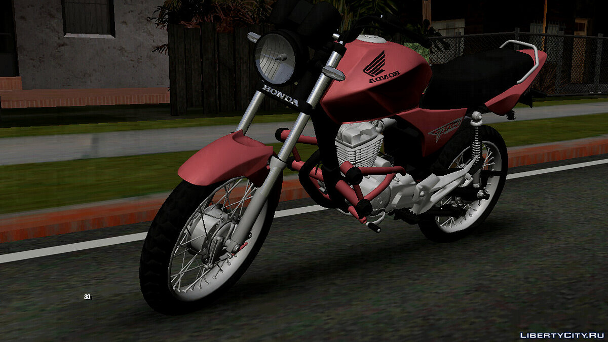 Motorbike Honda Titan 2008 (DFF only) for GTA San Andreas (iOS, Android)