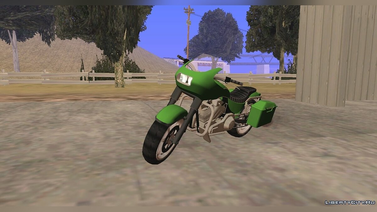 Motorbike GTA 5 Bagger (dff only) for GTA San Andreas (iOS, Android)