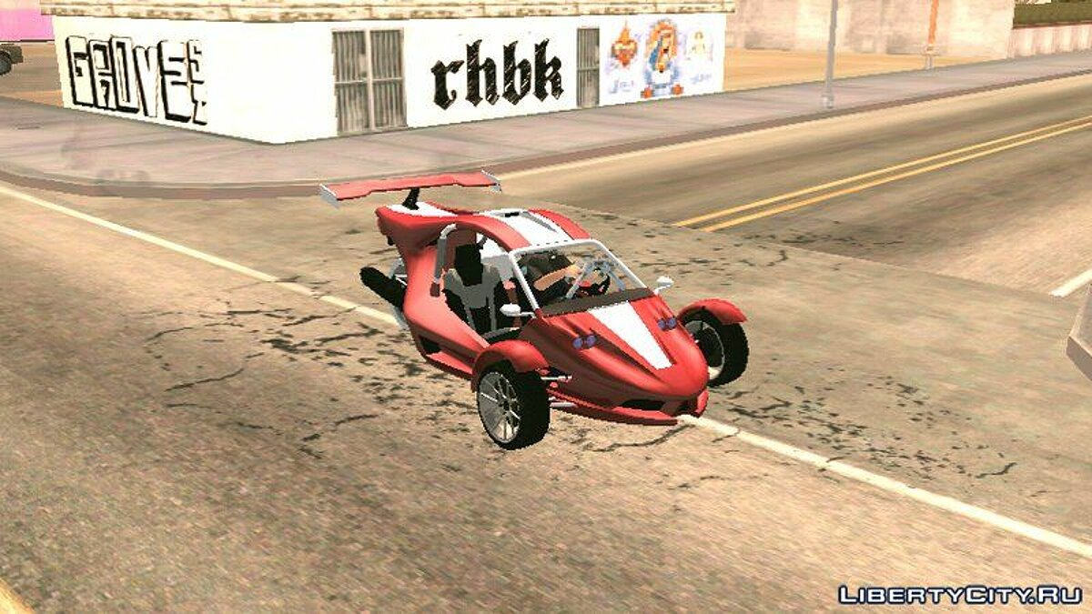 Motorbike GTA V Raptor for GTA San Andreas (iOS, Android)