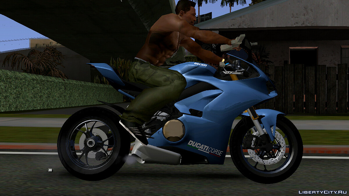 Motorbike Ducati Panigale V4S (DFF only) for GTA San Andreas (iOS, Android)