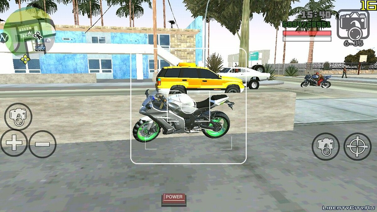 Motorbike Yamaha R6 And Kawasaki Ninja Zx10r for GTA San Andreas (iOS, Android)
