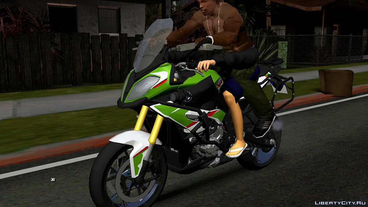 Motorbike BMW S1000 XR (DFF only) for GTA San Andreas (iOS, Android)