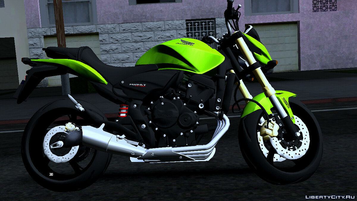 Motorbike Honda Hornet 2010 (DFF only) for GTA San Andreas (iOS, Android)