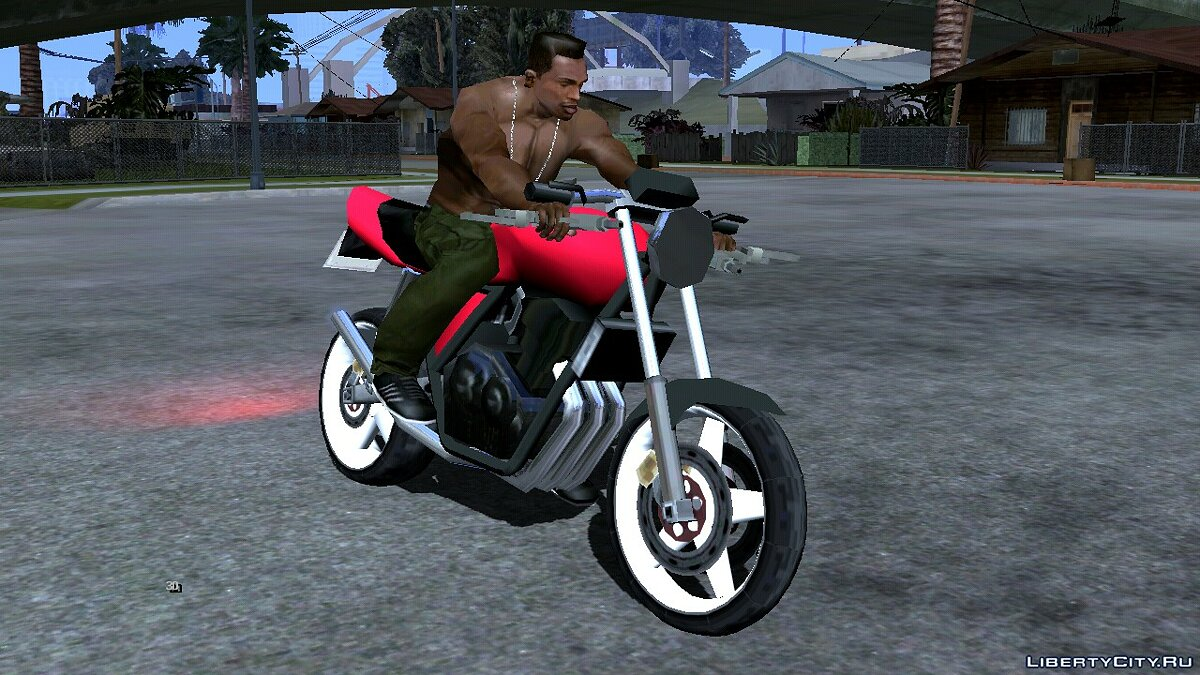 Motorbike Bike Project - PCJ600 for GTA San Andreas (iOS, Android)