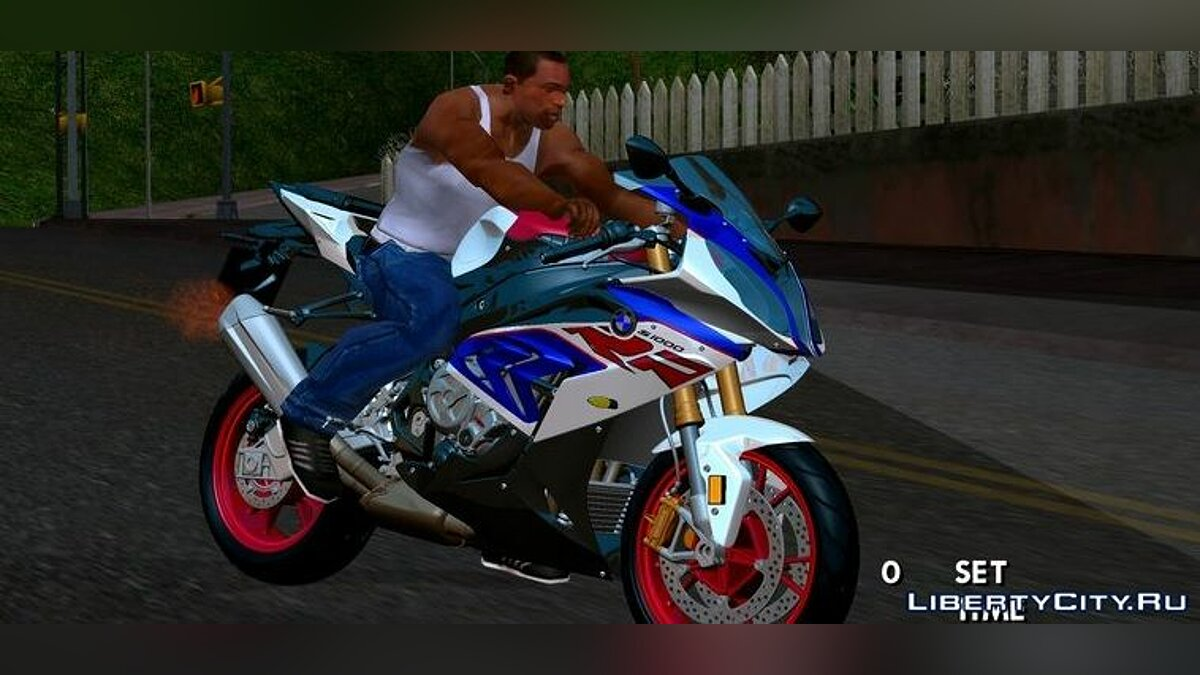 Motorbike BMW S1000 RR for GTA San Andreas (iOS, Android)