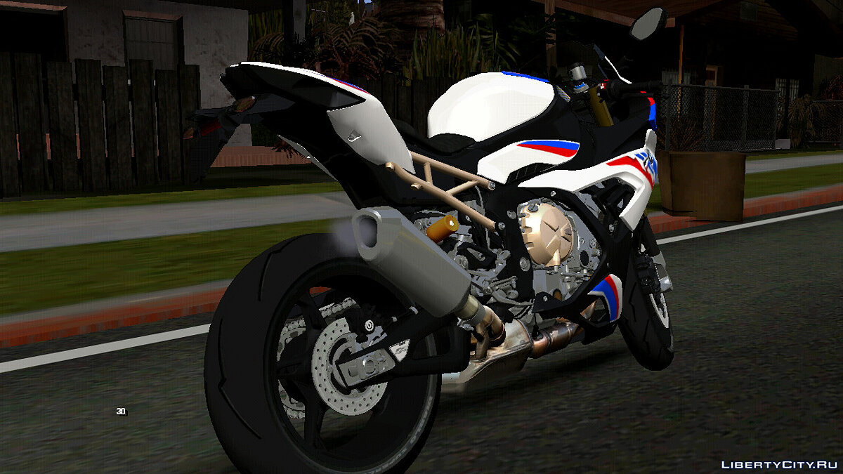 Motorbike 2020 BMW S1000RR for GTA San Andreas (iOS, Android)