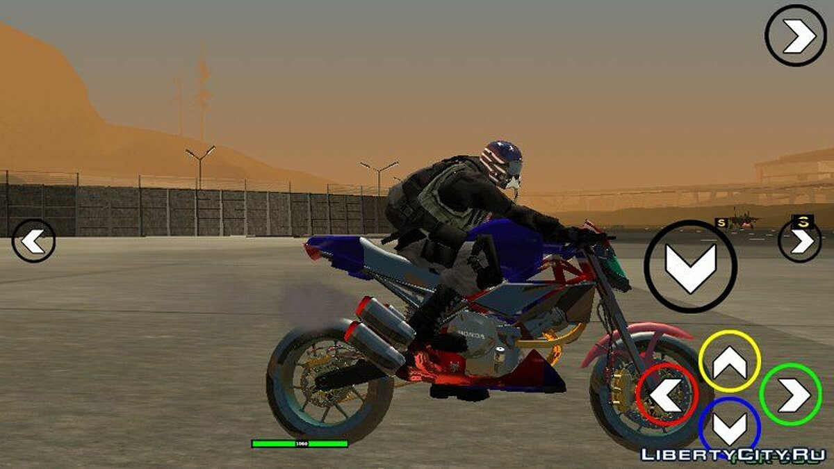 Motorbike FCR900 for GTA San Andreas (iOS, Android)