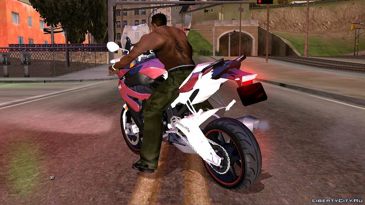 Motorbike BMW S1000 XR 2018 for GTA San Andreas (iOS, Android)