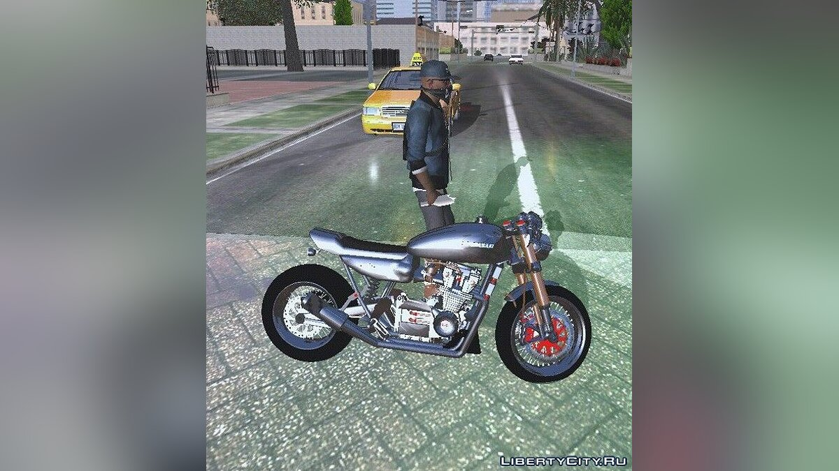 Kawasaki Ninja 750 for GTA San Andreas (iOS, Android) - Картинка #5