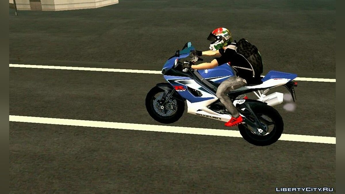 Motorbike Suzuki GSXR 1000 for GTA San Andreas (iOS, Android)