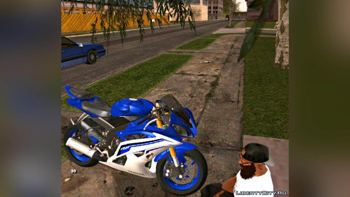 Motorbike Yamaha YZF R6 for GTA San Andreas (iOS, Android)
