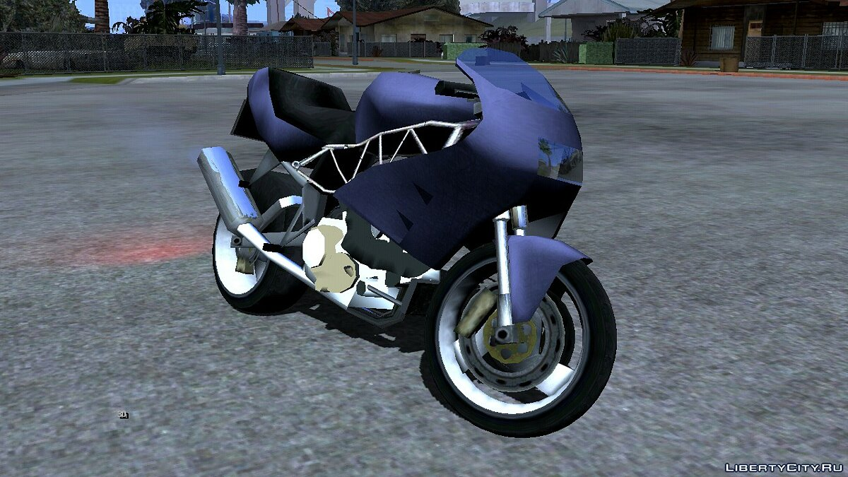 Motorbike Bike project - FCR900 for GTA San Andreas (iOS, Android)