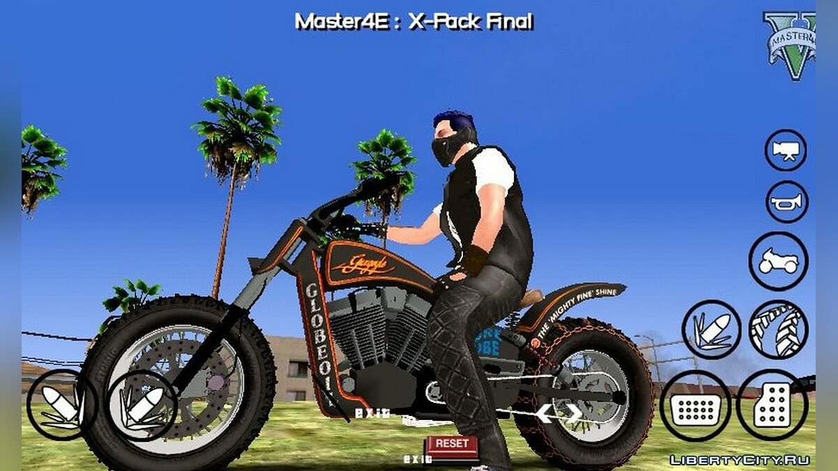 Motorbike Western Gargoyle from GTA 5 for GTA San Andreas (iOS, Android)