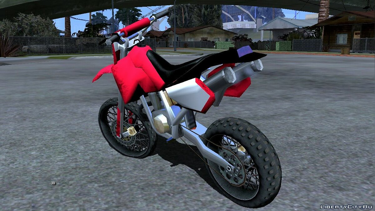 Motorbike Bike project - Sanchez for GTA San Andreas (iOS, Android)