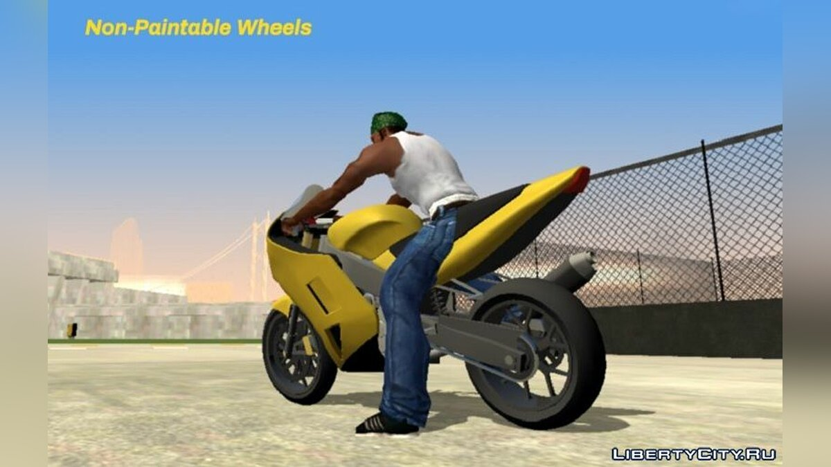 Motorbike Shitzu NRG 900RR (DFF only) for GTA San Andreas (iOS, Android)