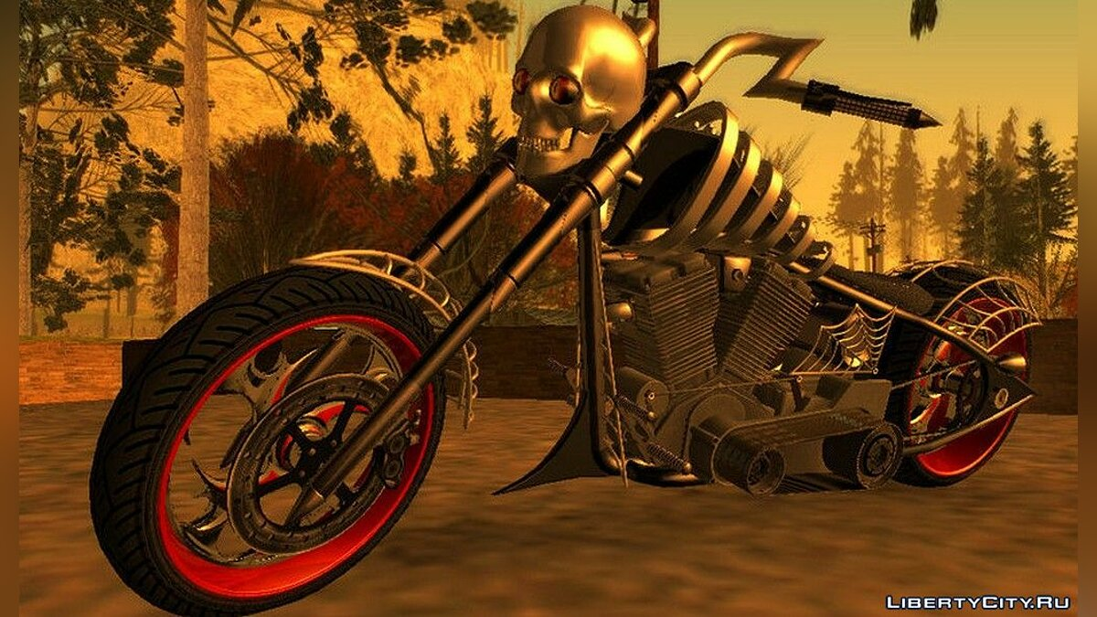 Motorbike Sanctus motorcycle from GTA 5 for GTA San Andreas (iOS, Android)