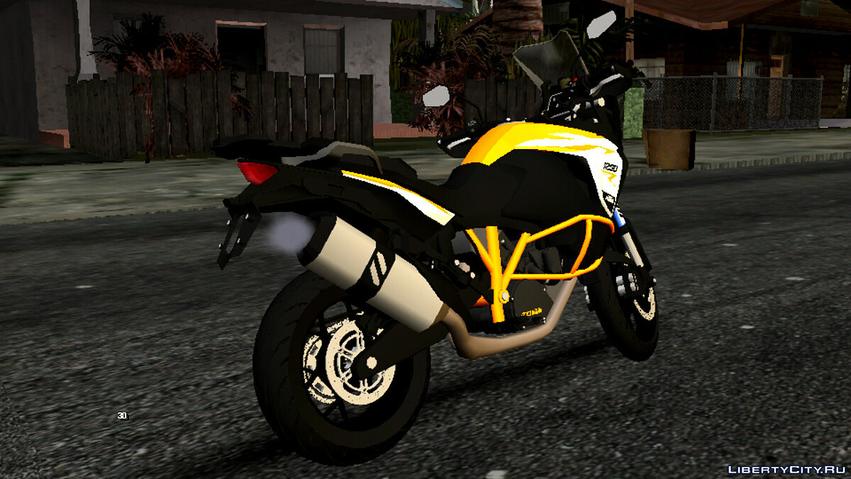 Motorbike KTM 1290 Adventure (DFF only) for GTA San Andreas (iOS, Android)