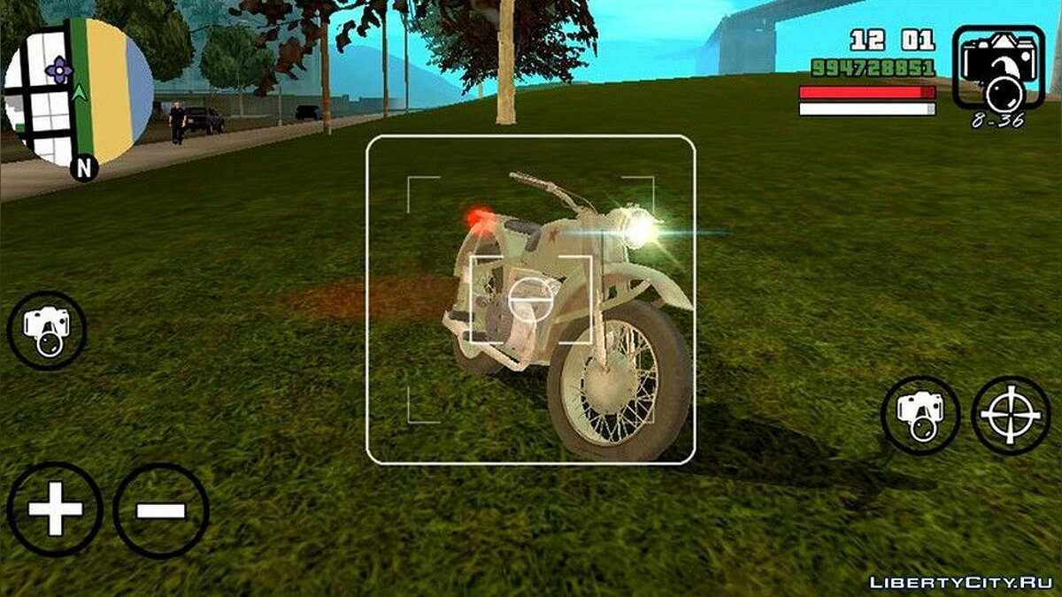 Motorbike Classic motorcycle for GTA San Andreas (iOS, Android)