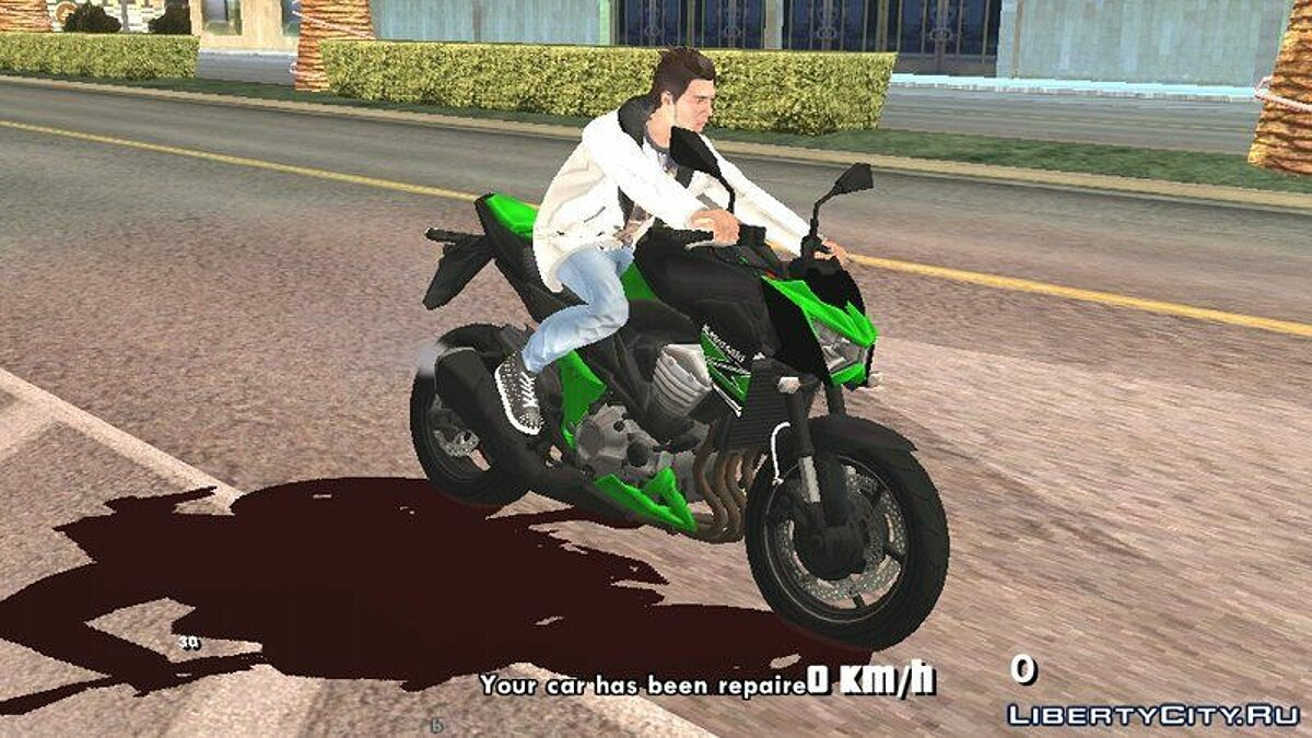 Motorbike Collection of non-driving motorcycles for GTA San Andreas (iOS, Android)
