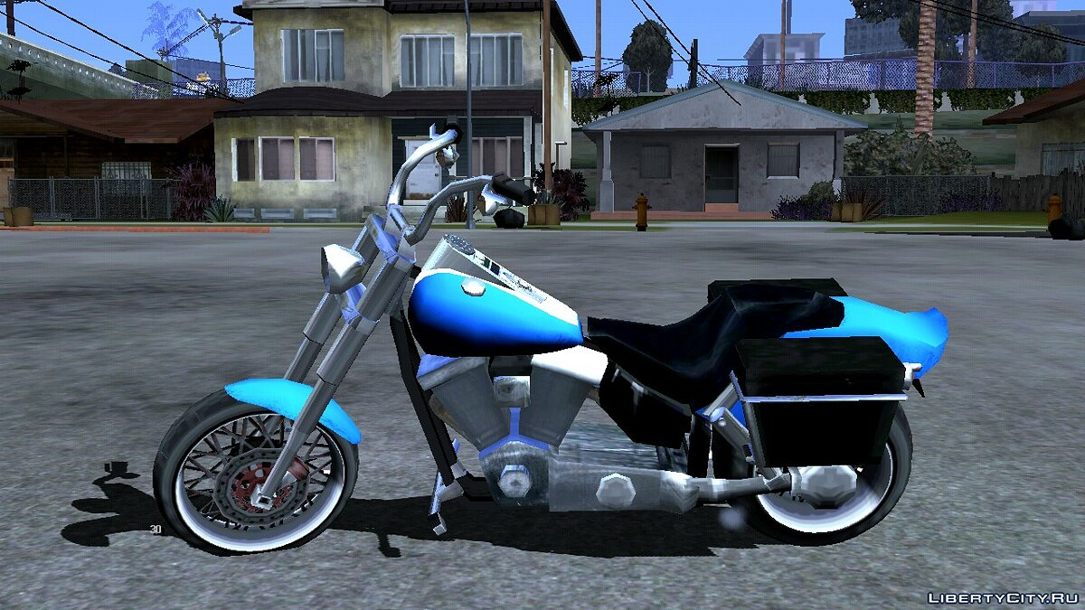 Motorbike Bike project - Freeway for GTA San Andreas (iOS, Android)