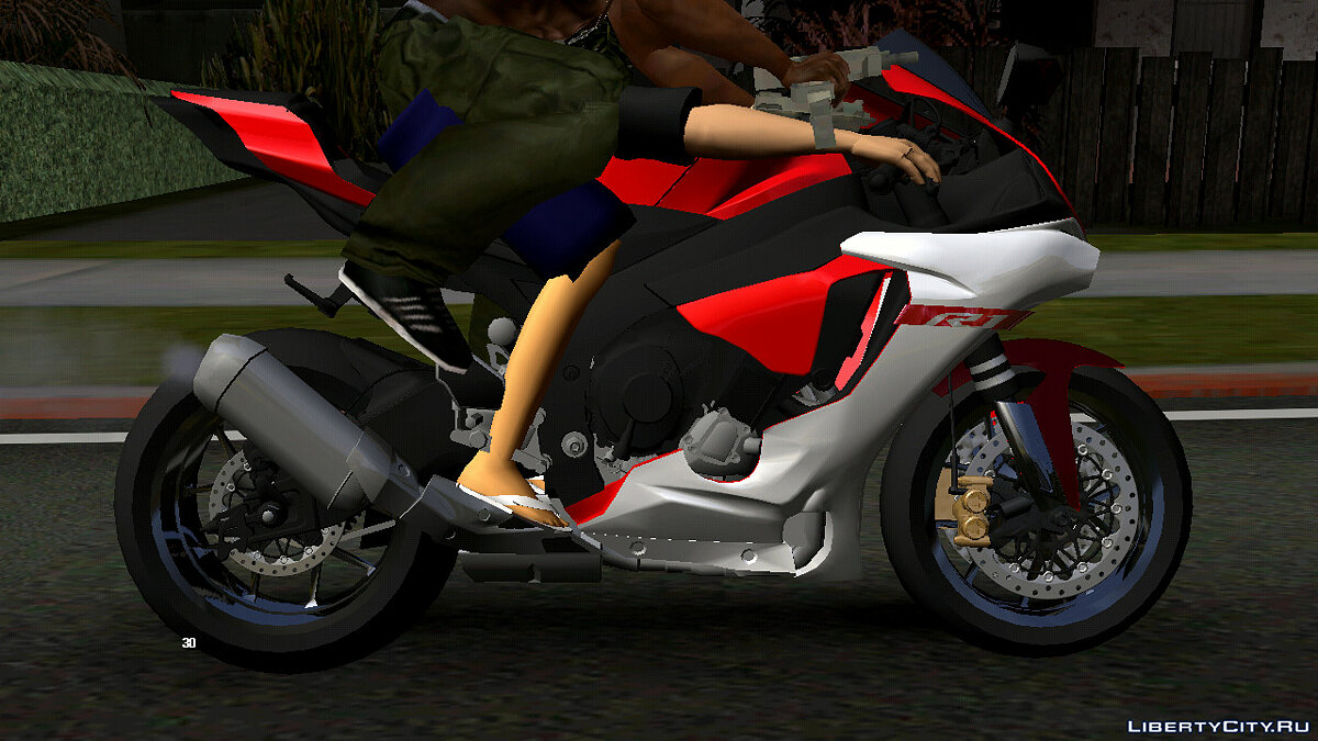 Motorbike Yamaha R1M (DFF only) for GTA San Andreas (iOS, Android)