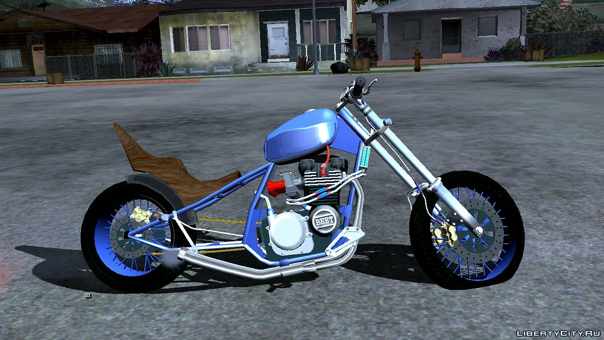 Motorbike Prodigy for GTA San Andreas (iOS, Android)