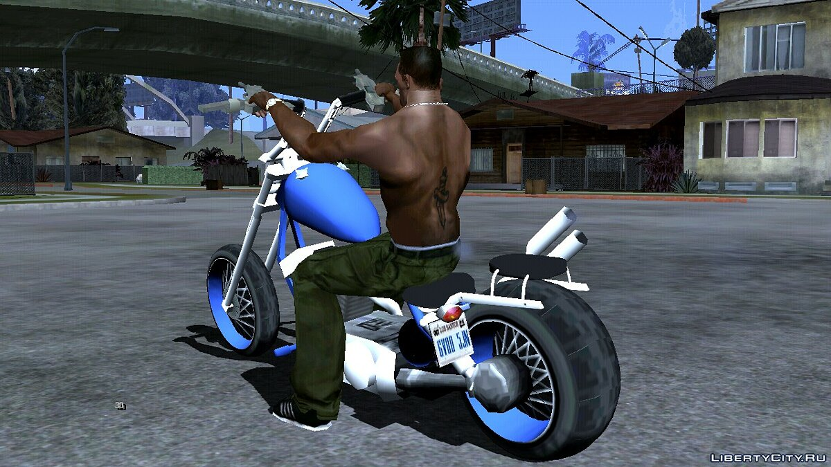 Motorbike Ironclad for GTA San Andreas (iOS, Android)