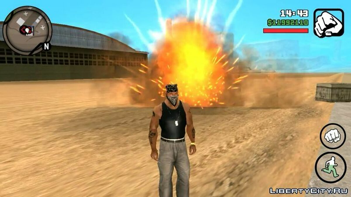 Program GTA V Effects For Android for GTA San Andreas (iOS, Android)