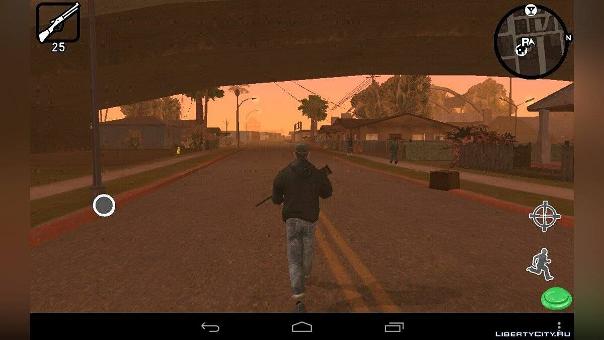 Program HUD New Style (Android) for GTA San Andreas (iOS, Android)