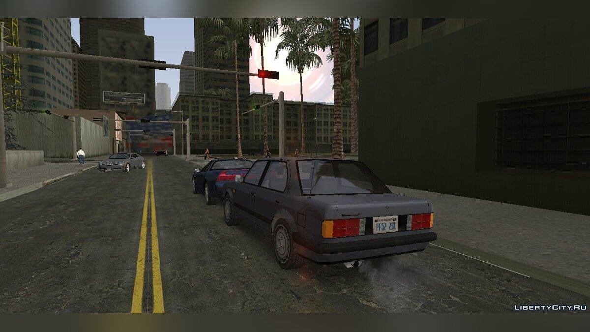 Program Graphics Los Angeles [ANDROID] for GTA San Andreas (iOS, Android)