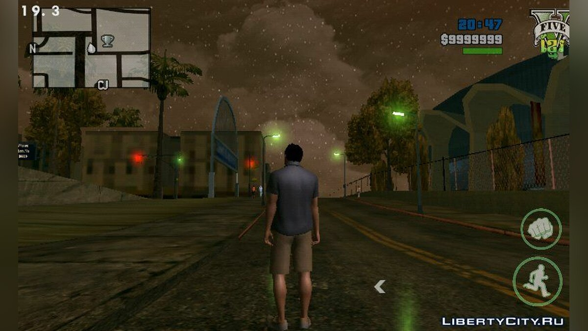 Program Timecyc High Quality for Skybox Android for GTA San Andreas (iOS, Android)