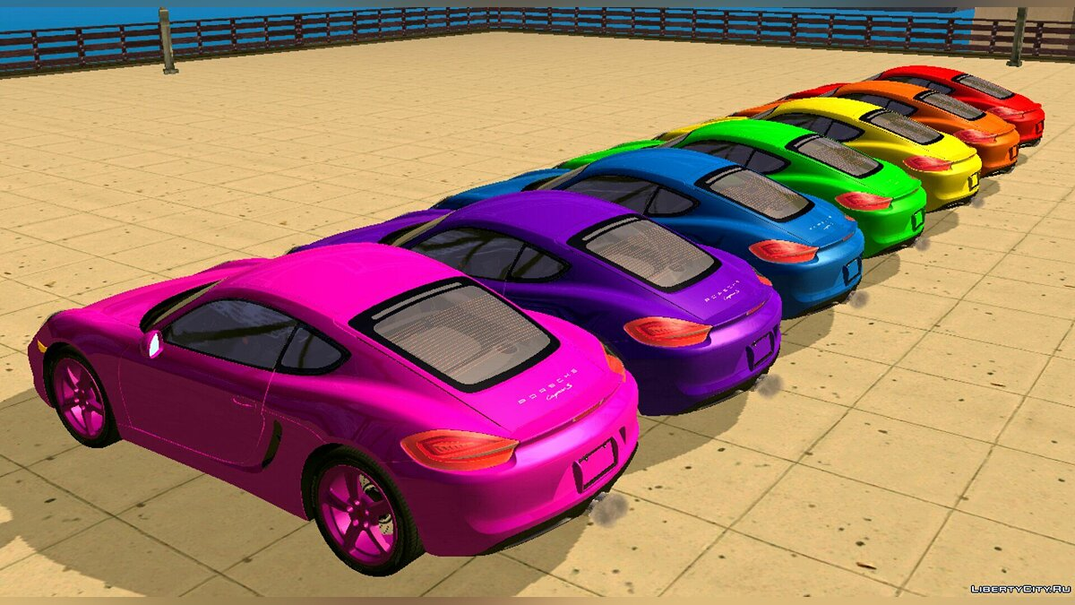Program New carcols.dat for GTA San Andreas (iOS, Android)
