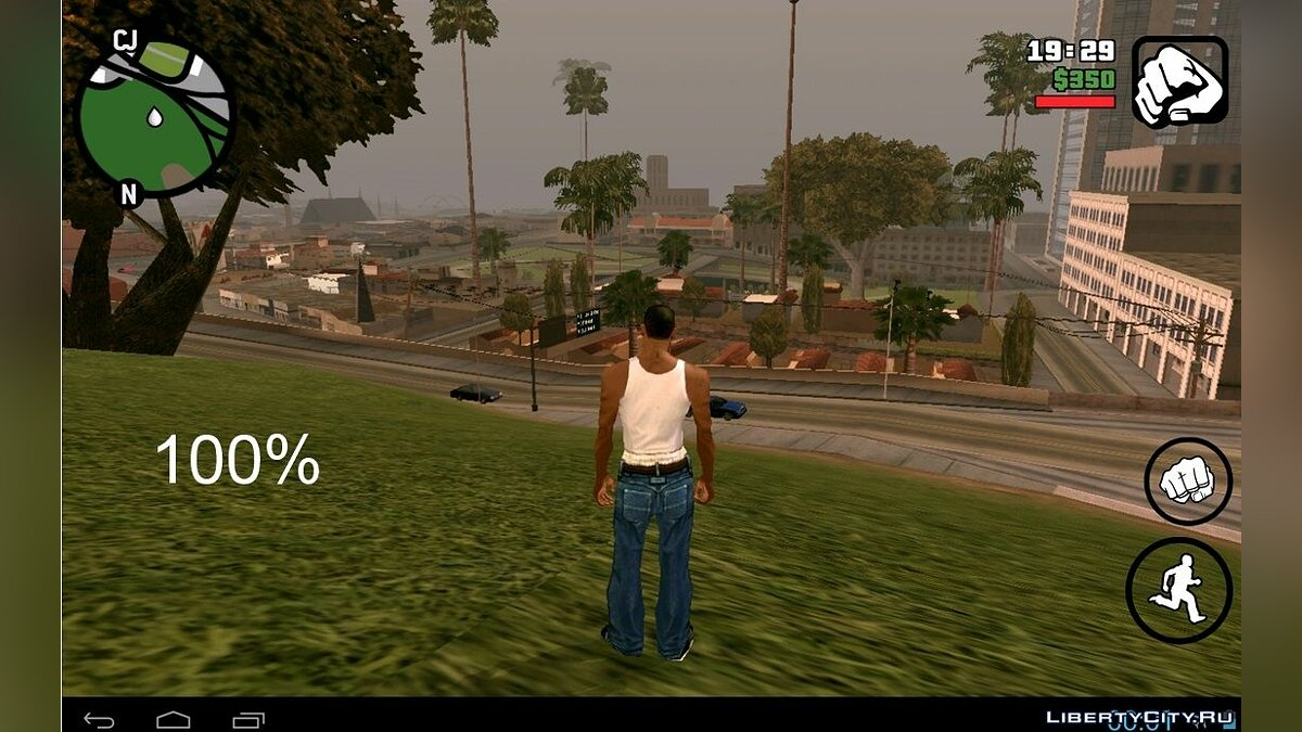 Sets with a different range of drawing (Android) for GTA San Andreas (iOS, Android)
