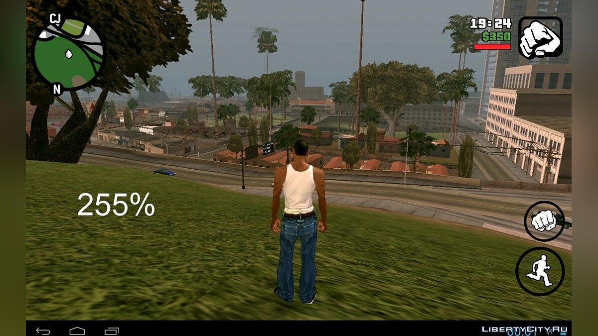Sets with a different range of drawing (Android) for GTA San Andreas (iOS, Android) - screenshot #2