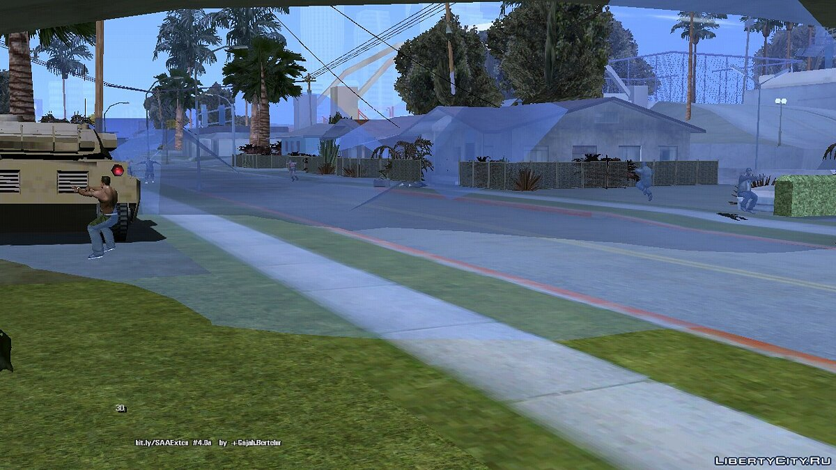Program Tsunami for GTA San Andreas (iOS, Android)