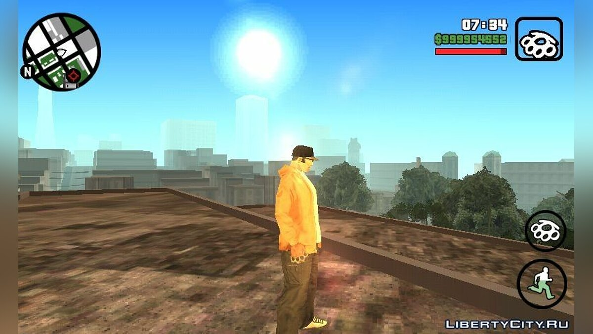 Program Extreme Graphics for GTA San Andreas (iOS, Android)
