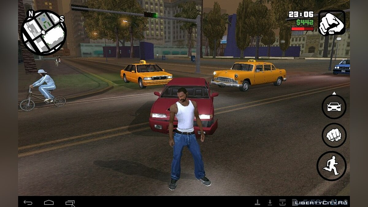 Animations from GTA TBOGT (Android, iOS) for GTA San Andreas (iOS, Android)