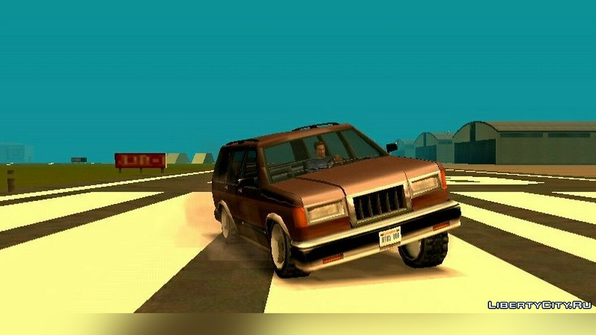 Program Realistic physics for cars for GTA San Andreas (iOS, Android)