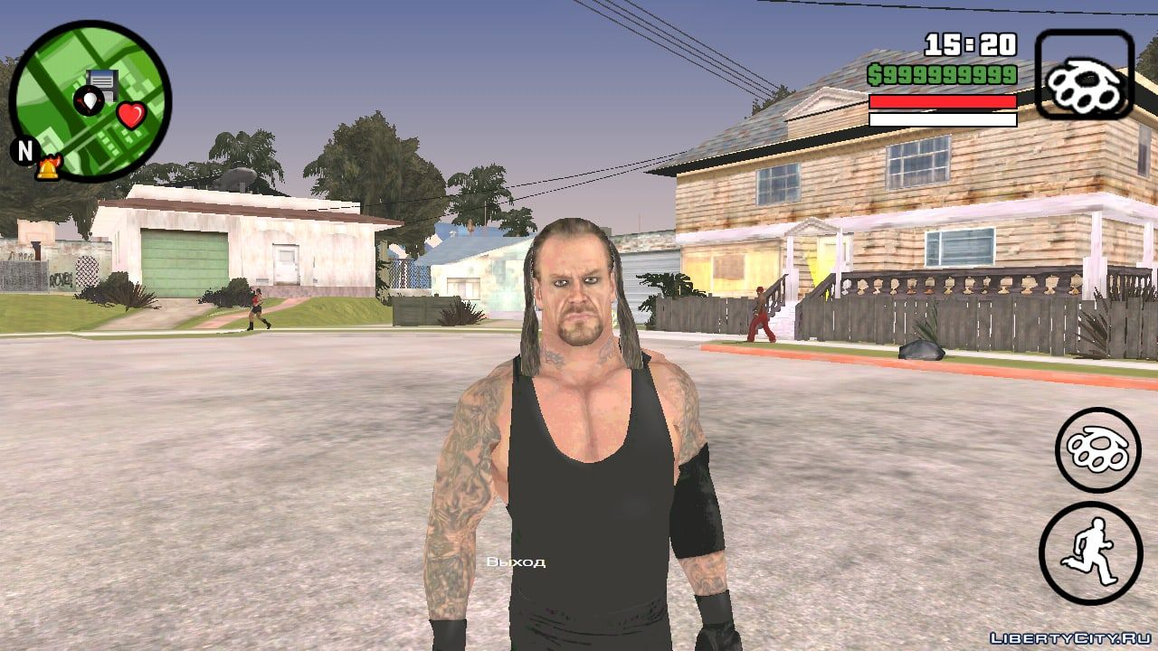 Undertaker from the game Smackdown vs Raw 2011 for GTA San Andreas (iOS,  Android)