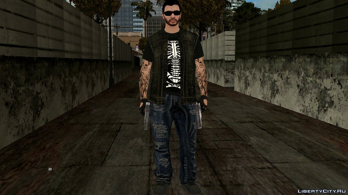 New character Stylish guy for GTA San Andreas (iOS, Android)