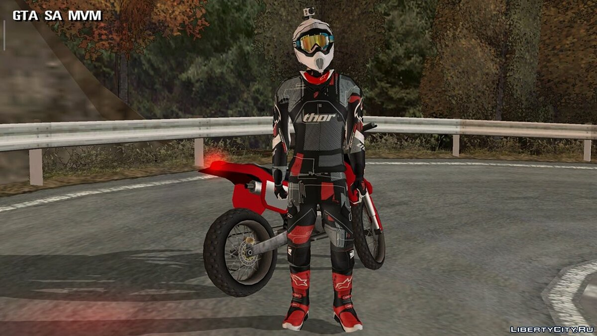 New character Racer for GTA San Andreas (iOS, Android)
