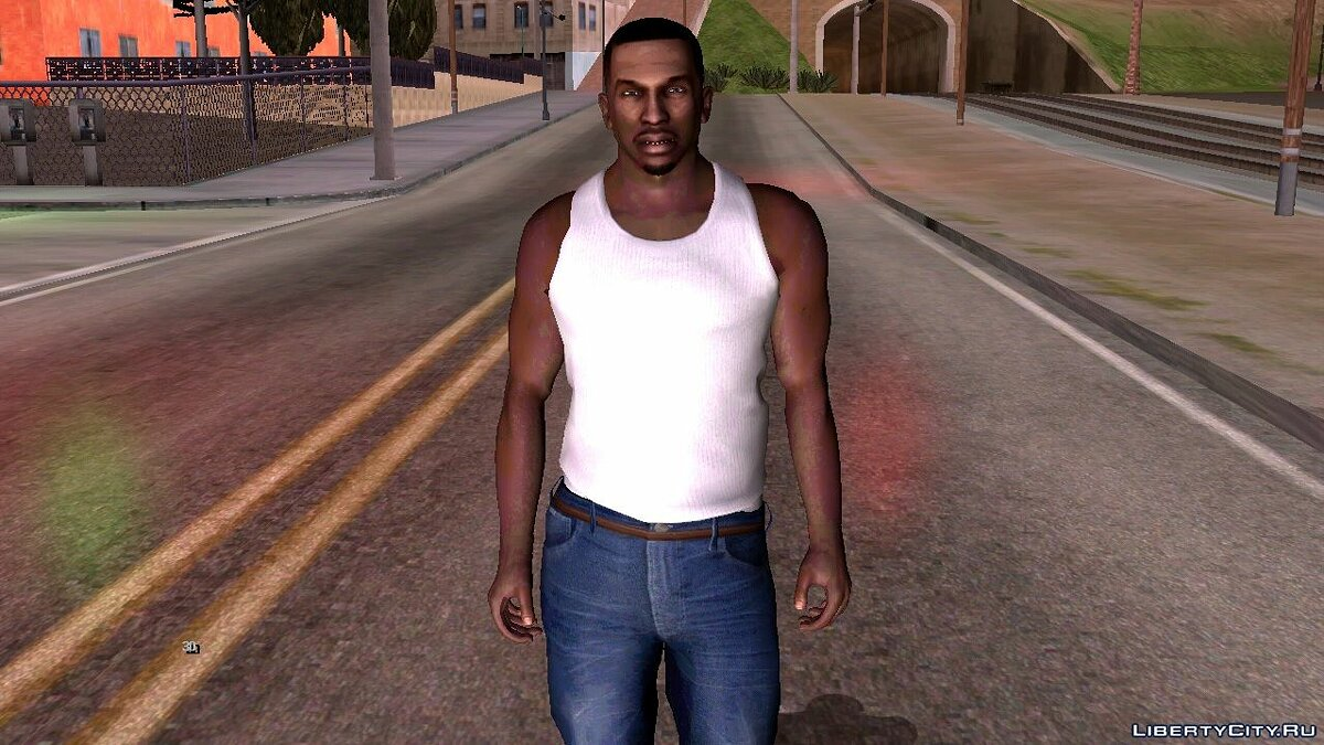 New character Karl Johnson in HD quality for GTA San Andreas (iOS, Android)
