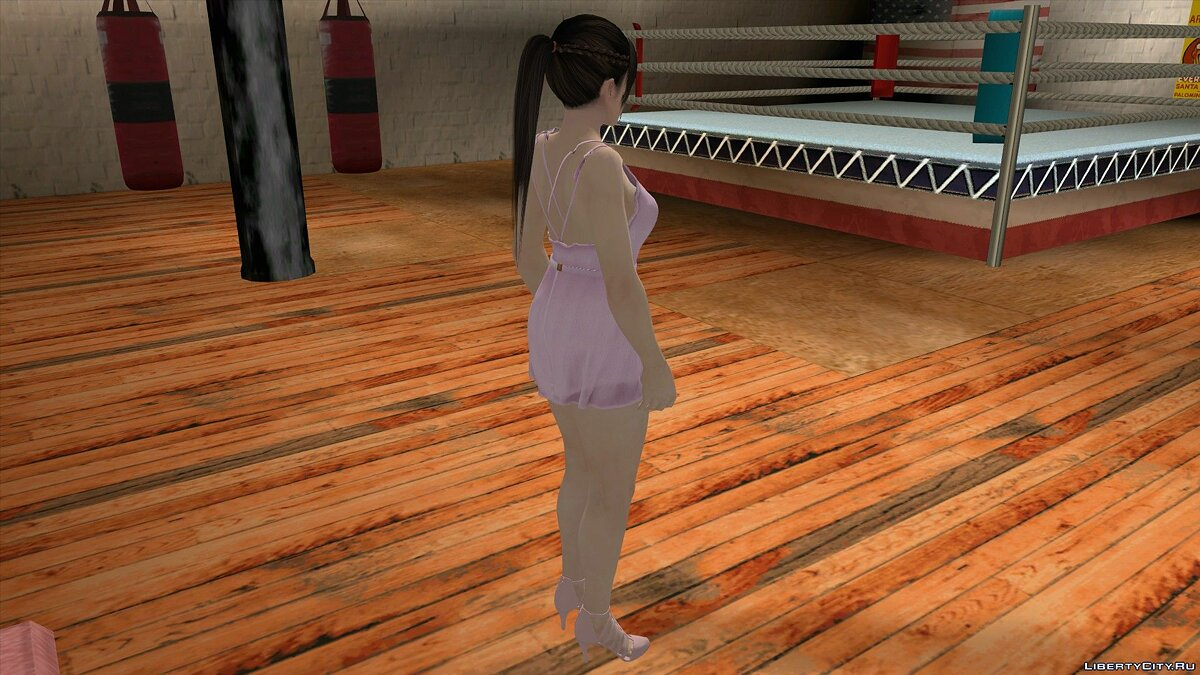 New character Kokoro in casual wear v5 for GTA San Andreas (iOS, Android)