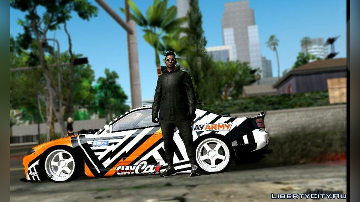 GTA Online Off-White Random Skin for GTA San Andreas (iOS, Android) - Картинка #3