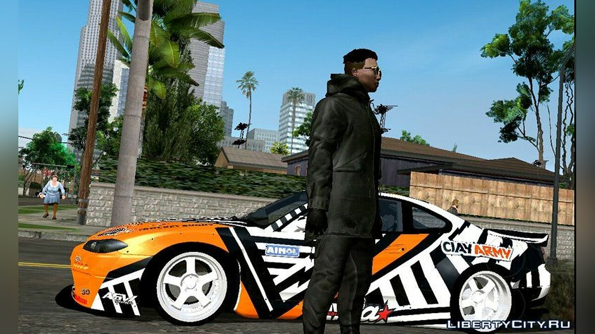 GTA Online Off-White Random Skin for GTA San Andreas (iOS, Android) - Картинка #2
