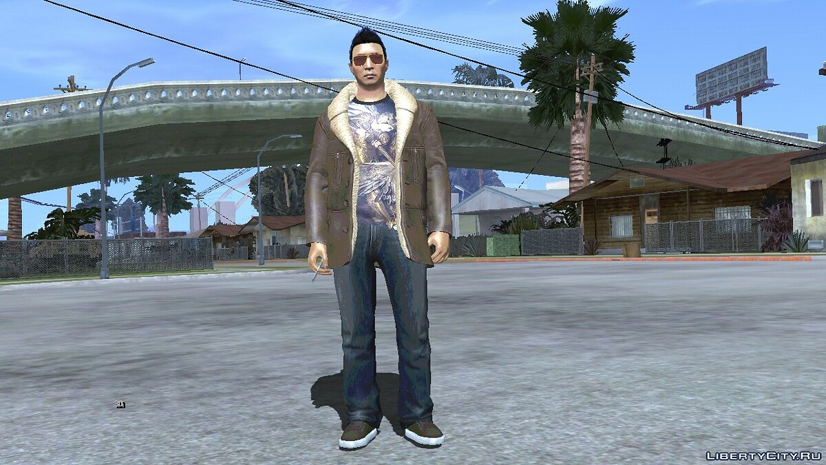 New character Random skin from GTA Online # 12 for GTA San Andreas (iOS, Android)