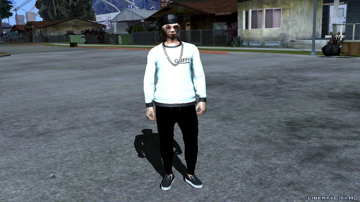 New character New skin cwmyhb1 - Street style V4 for GTA San Andreas (iOS, Android)
