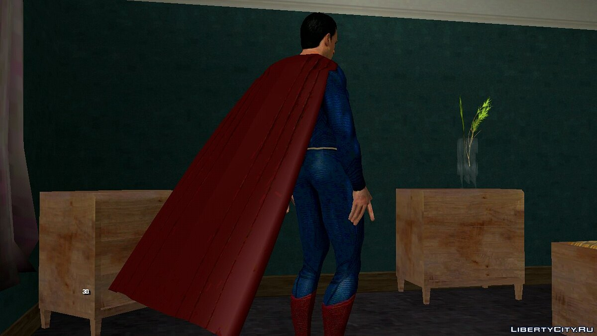 New character Superman jl skin pack for GTA San Andreas (iOS, Android)