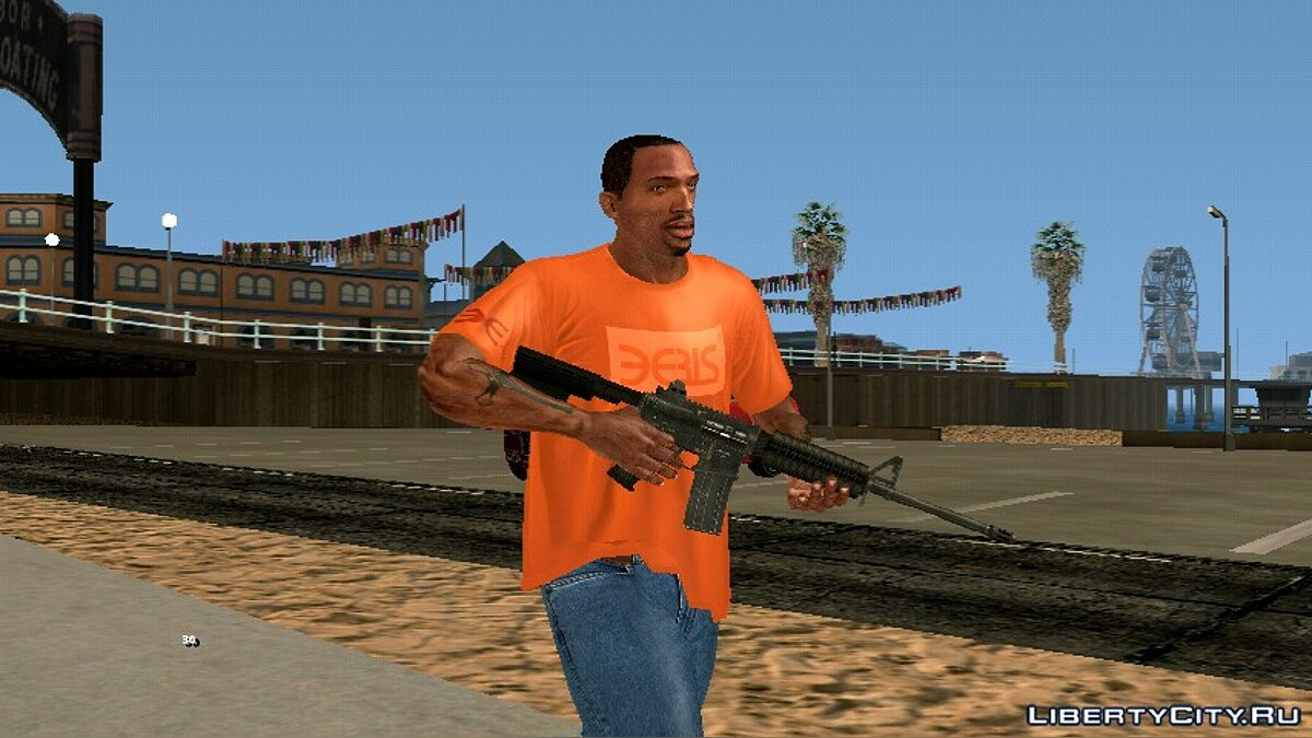 CJ Insanity for Android / iOS for GTA San Andreas (iOS, Android) - Картинка #2