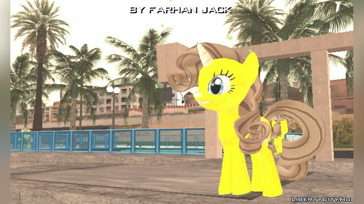 New character My cute pony for GTA San Andreas (iOS, Android)